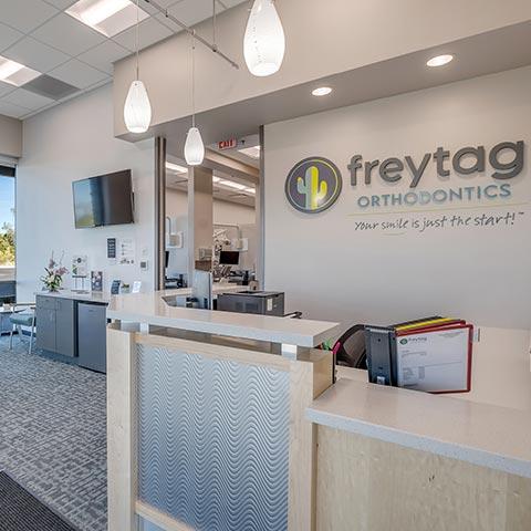 Freytag Oro Valley Gallery Lobby Front Desk