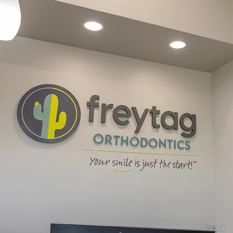Freytag Oro Valley Gallery Lobby Sign